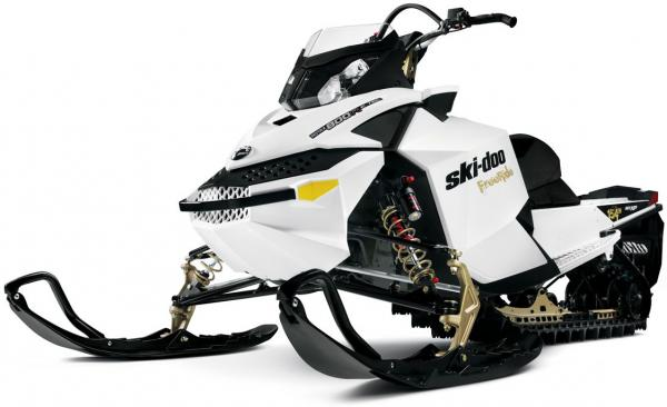 Ski-Doo Summit freeride E-TEC 2011 Summit X E-TEC